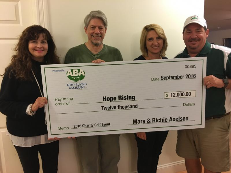 Hope Rising: Raised $12,000